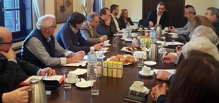 Σύσκεψη διαχείρισης των υδατικών πόρων στην Κρήτη.