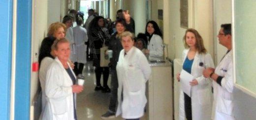 Η στάση εργασίας των εργαζόμενων στα ιατρικά εργαστήρια του ΓΝΑΝ