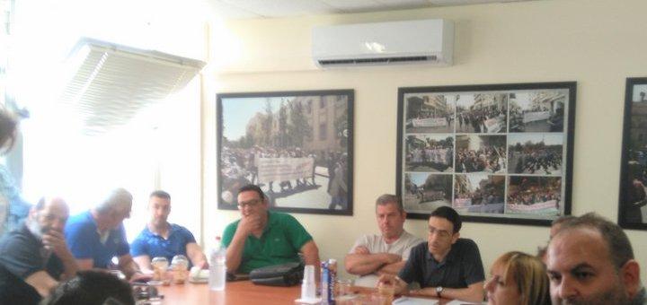Συνάντηση των εργαζομένων των Νοσοκομείων της Κρήτης