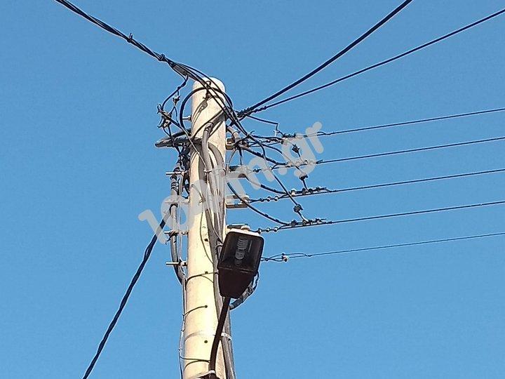 διακοπή ηλεκτρικού ρεύματος σε Ελούντα και Πλάκα