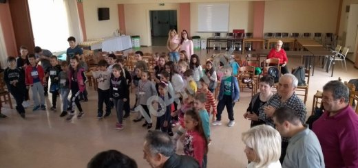 Τα παιδιά στο παράρτημα ΑμεΑ Λασιθίου