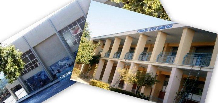 Αδελφοποίηση με το Γυμνάσιο Αγίου Δομετίου Κύπρου