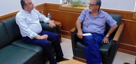 Συνάντηση Περιφερειάρχη, Δημάρχου Αγ. Νικολάου