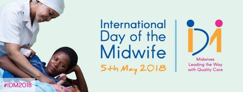 διεθνής ημέρα Μαιών Μαιευτών, ανακοίνωση