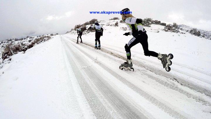 Πατίνια στον χιονισμένο Ψηλορείτη!!! 07-01-2019
