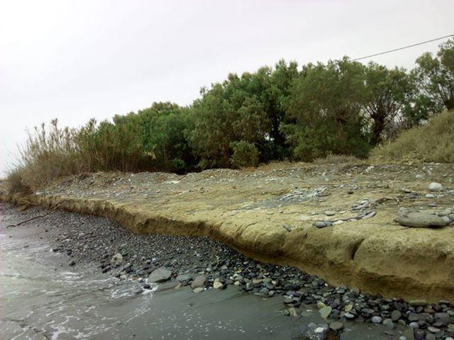 Αποκατάσταση παραλίας στην αρχική της κατάσταση