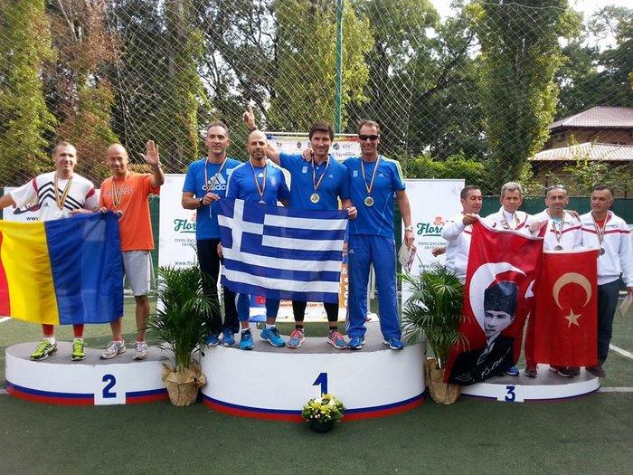 Αποτελέσματα των Βετεράνων της Κρήτης στους Βαλκανικούς αγώνες στην Ρουμανία