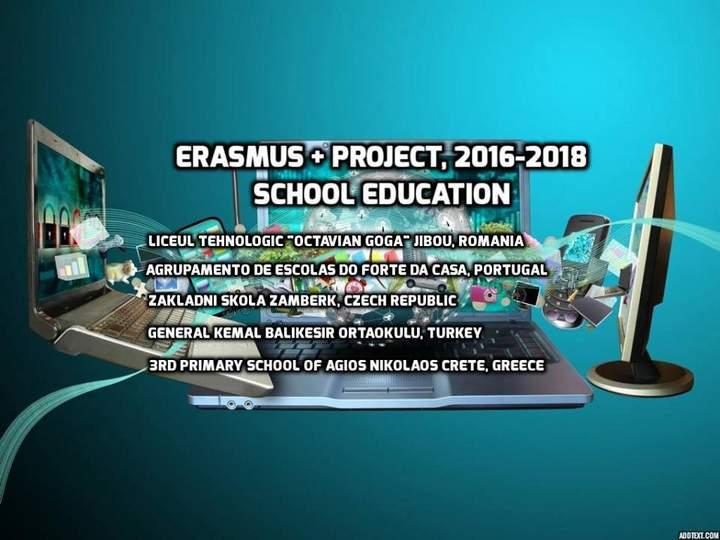 Το 3ο Δημ. Σχολείο Αγ. Νικολάου στο Erasmus Project