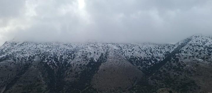 Χιόνια στα βουνά μας (επιτέλους)