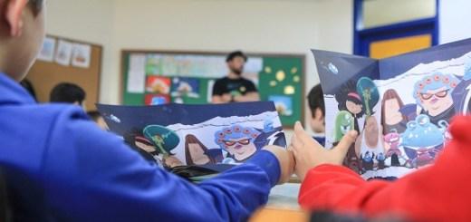 Οι πράκτορες του πλανήτη εκπαιδεύουν τους μαθητές του Αγ. Νικολάου