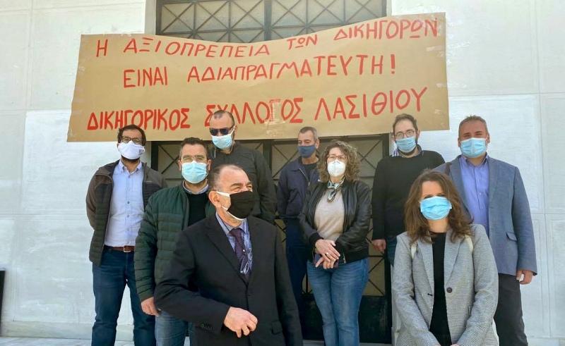 Για ΚΥΑ του Σαββατοκύριακου και άλλα θέματα, διαμαρτυρία των δικηγόρων