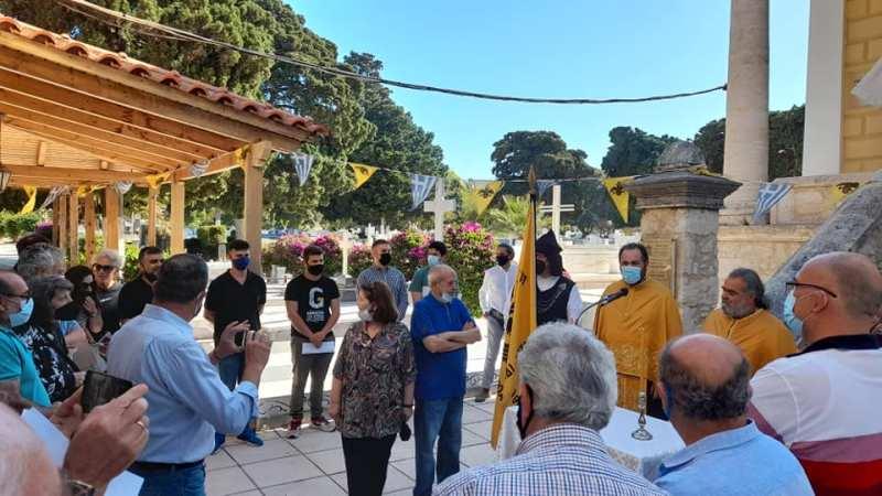 """Η ομάδα """"Ζείδωρος"""" Ηρακλείου τίμησε την ημέρα της Γενοκτονίας του Ποντιακού ελληνισμού"""
