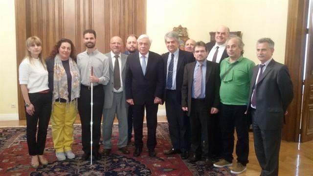 συνάντηση μελών του Δ.Σ της Ομοσπονδίας Τριτέκνων Ελλάδας (ΟΠΟΤΤΕ) με τον Πρόεδρο της Ελληνικής Δημοκρατίας κ. Προκόπη Παυλόπουλο