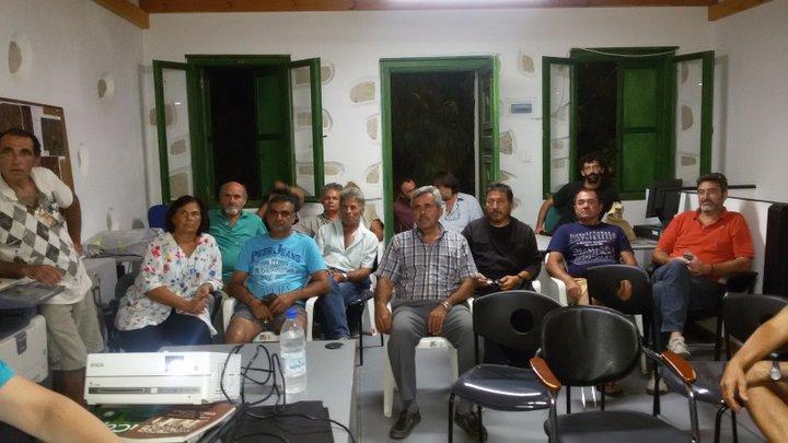 Τα προγραμματιζόμενα έργα δεν έχουν  καμία σχέση με τις ενεργειακές ανάγκες της περιοχής μας και γενικότερα της Κρήτης