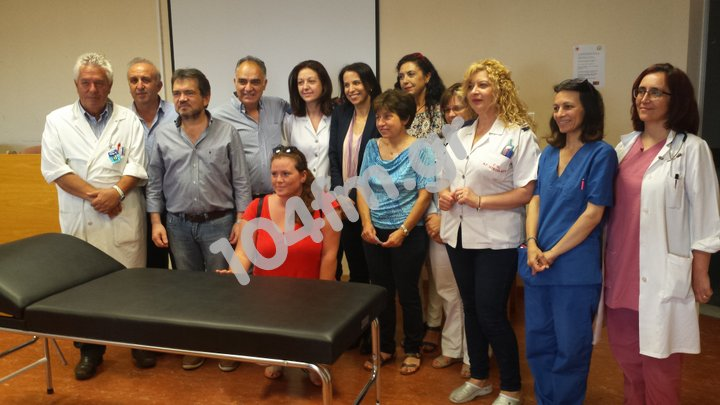 Σύλλογος Τριτέκνων Λασιθίου δωρεά στο νοσοκομείο Αγ Νικολάου