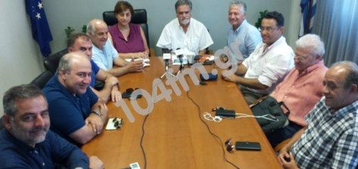 Συνάντηση με τον πρωθυπουργό για τον ΒΟΑΚ