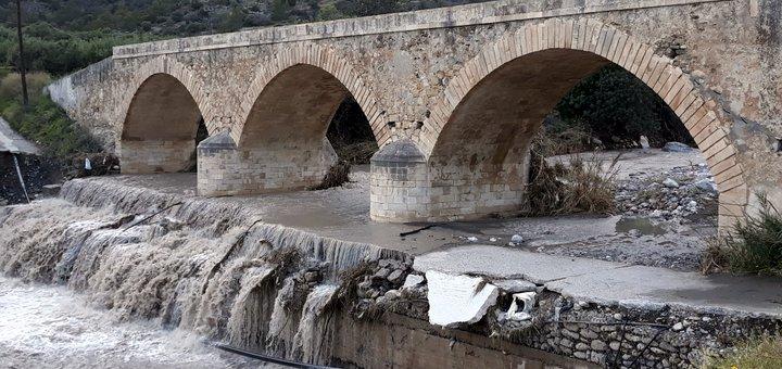 Προτάσεις κατοίκων της περιοχής για τη γέφυρα του Σαραντάπηχου