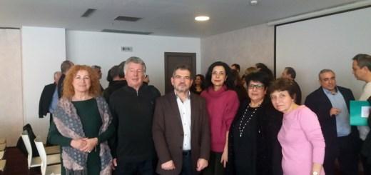 6ο συνέδριο ομοσπονδίας τριτέκνων, ο Γιώργος Χαβάκης αντιπρόεδρος
