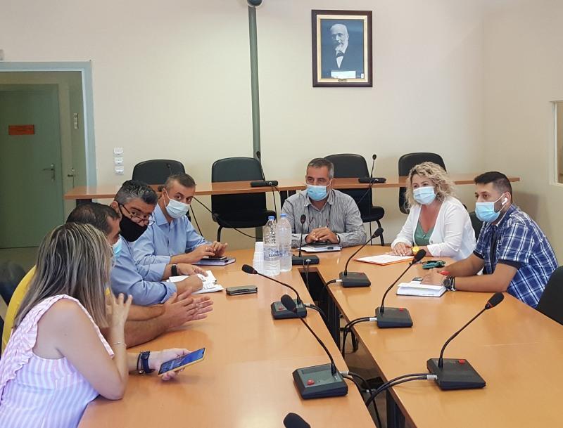 συνεργασία δήμου οροπεδίου Λασιθίου με την 7η ΥΠΕ