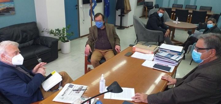 Συνάντηση Ζερβού - Θραψανιώτη