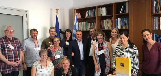 Εκπαιδευτικοί από το Erasmus+ στον Δήμο Ιεράπετρας