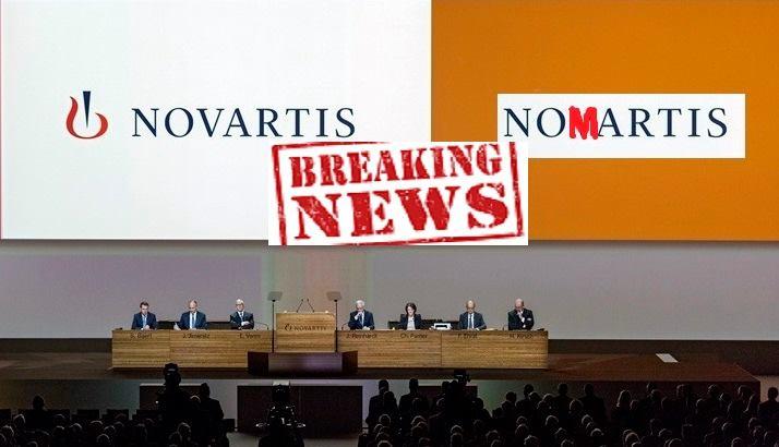 Μια μαρτυρία για τη NOVARTIS χωρίς κουκούλα!