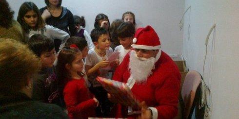 Άη Βασίλης και δώρα