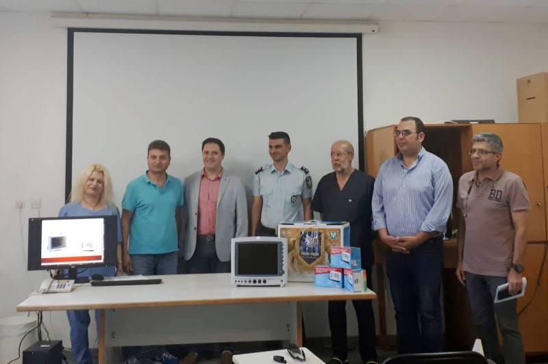 Δωρεά Ιατρικού Εξοπλισμού στο νοσοκομείο Ιεράπετρας