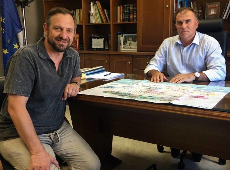 Συνάντηση του δημάρχου Ιεράπετρας με τον γενικό γραμματέα του Hydrogen Europe