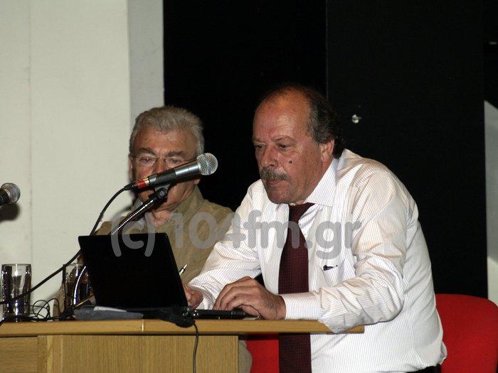 ο Γιώργος Σταυρακάκης, διδάσκει για τους σεισμούς στο ανοιχτό πανεπιστήμιο Αγίου Νικολάου
