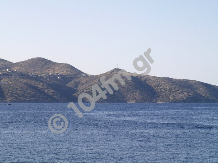 η περιοχή Πλευρά όπου σχεδιάζεται να υλοποιηθεί το θαλάσσιο πάρκο