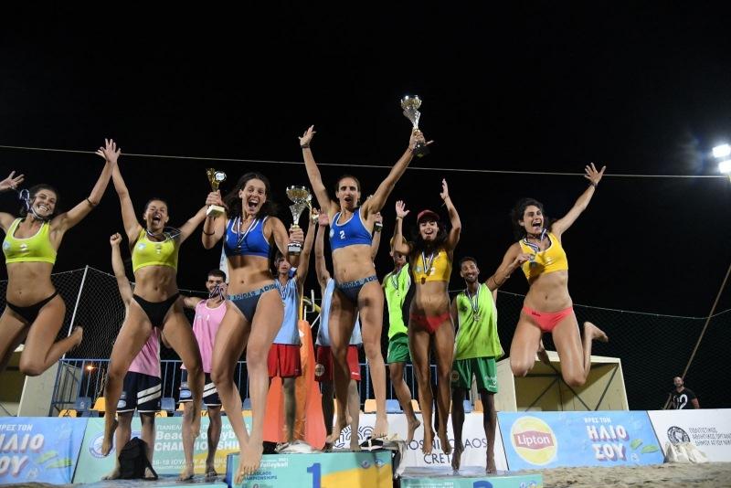 Πρωταθλητές Ελλάδας, Αρβανίτη, Καραγκούνη, Μανδηλάρης, Κανέλλος