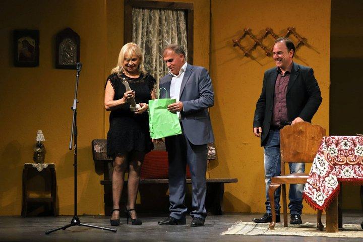 """Τιμητικό αφιέρωμα στο """"Σπίτι του Ηθοποιού"""" από το 9ο Πανελλήνιο Φεστιβάλ Ερασιτεχνικού Θεάτρου Ιεράπετρας"""