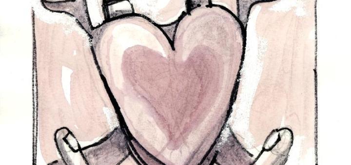 Έκθεση εικονογραφημένων ποιημάτων του Άγγελου Σπάρταλη στον Άγιο Νικόλαο