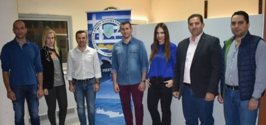 Συγκρότηση σε σώμα του νέου ΔΣ της Ένωσης Αξιωματικών ΕΛ.ΑΣ. Κρήτης