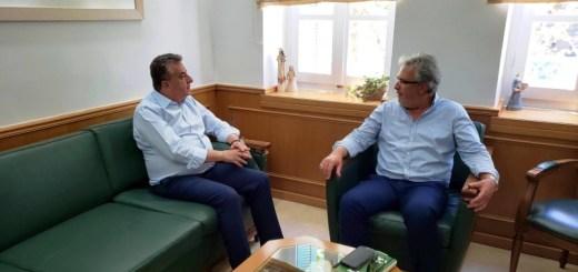 Συνάντηση Περιφερειάρχη Κρήτης με τον Δήμαρχο Σητείας