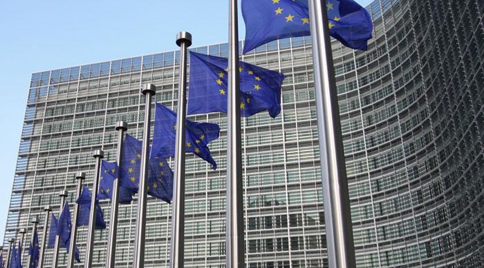 οι σημαίες της ευρωπαϊκής επιτροπής
