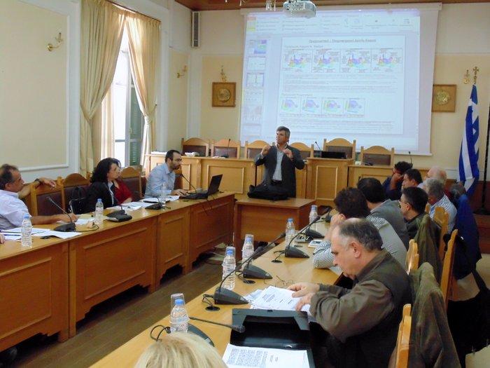 η επιτροπή περιβάλλοντος της περιφέρειας Κρήτης