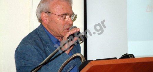 Ομιλία Μανόλη Θραψανιώτη για τη Συνταγματική Αναθεώρηση