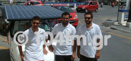 η ομάδα του Sunnyclist, στο λιμάνι του Αγίου Νικολάου