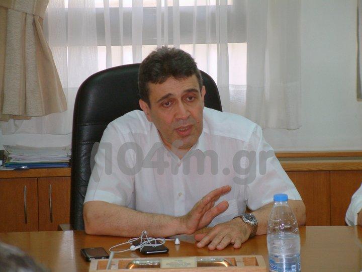 ο διοικητής της Υγειονομικής Περιφέρειας Κρήτης