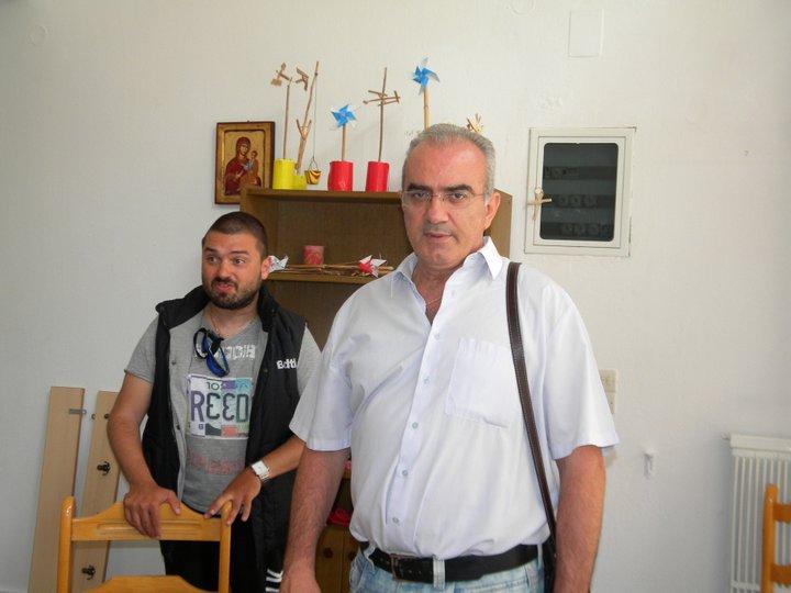 Μουδατσάκης, Λεμονής, πρόεδρος και αντιπρόεδρος του Ο.Κ.Υ.Δ.Α.Ν.