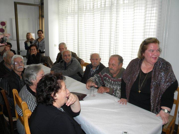 μέλη του ΚΑΠΗ, στη γιορτή