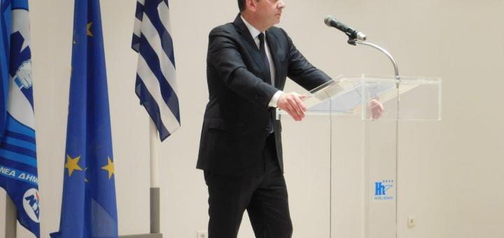 Γιάννης Πλακιωτάκης ομιλία στον Άγιο Νικόλαο