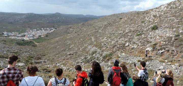πρόγραμμα Erasmus στο Γεωπάρκο Σητείας