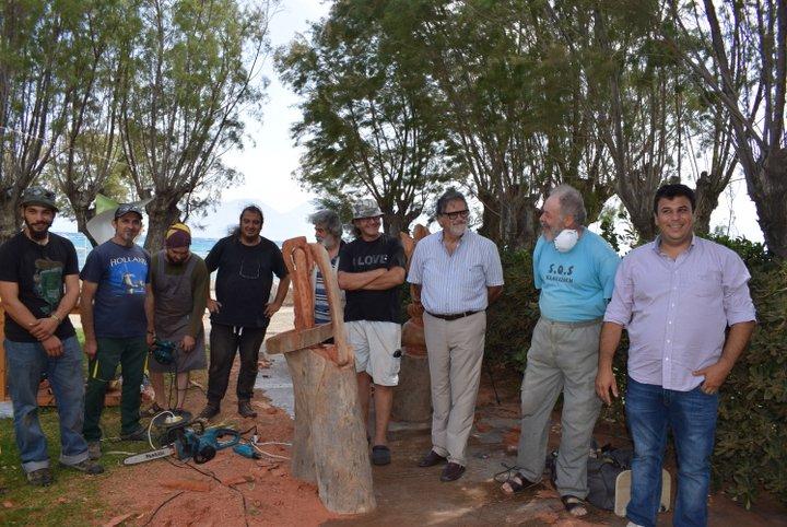 Ολοκληρώνεται το 2ο Πανελλήνιο Συμπόσιο Γλυπτικής επί ξύλου