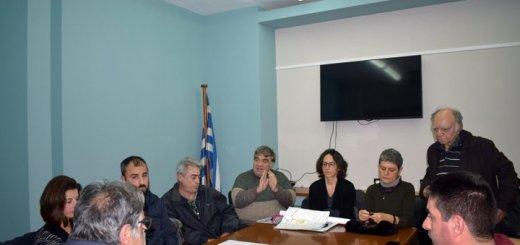 Συνάντηση δημάρχου με πολίτες της Νεάπολης