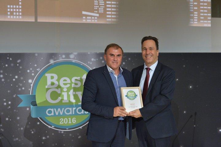 Best City Awards 2016, τα βραβεία, απονομή