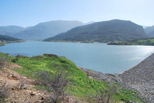 η στάθμη στη λίμνη του φράγματος έχει ανεβεί αρκετά