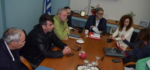 Συνάντηση περί διαχείρισης της παραλιακής ζώνης Σισίου